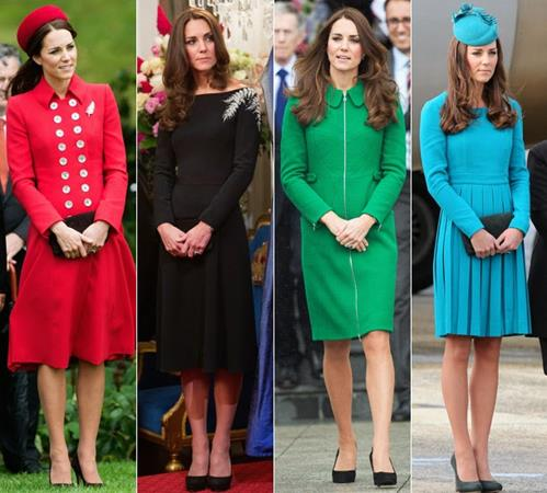 Kate Middleton Kraliyet Turu Stili