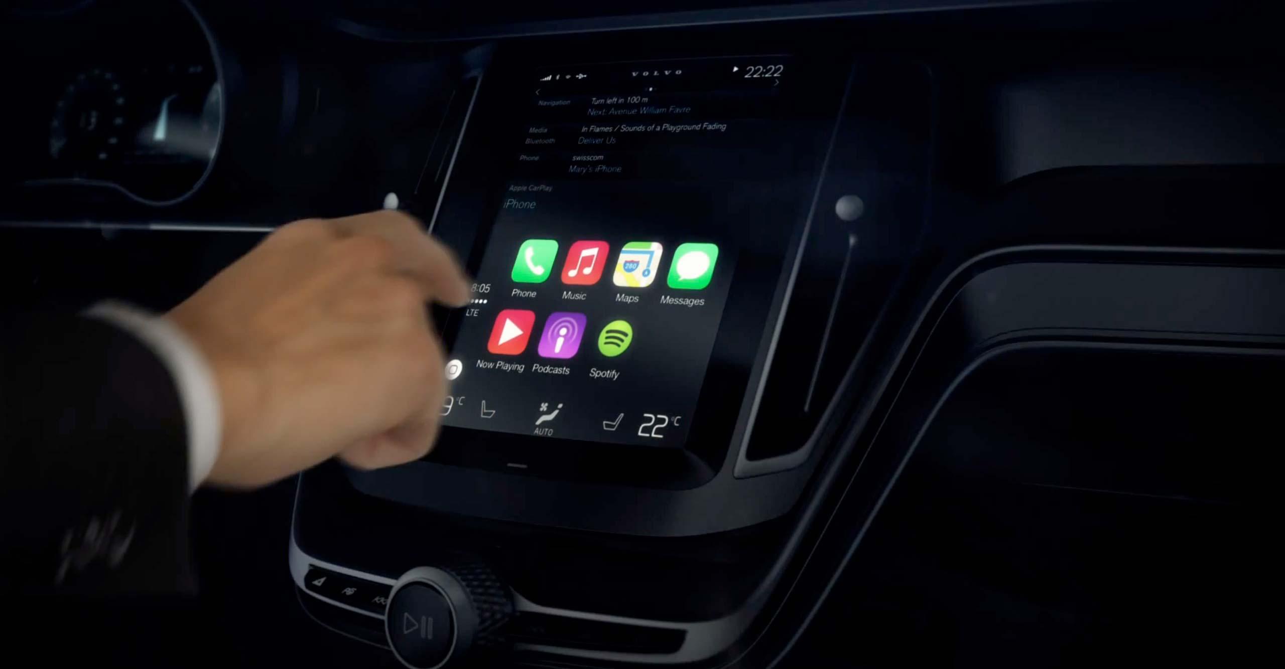 Otomobilde Carplay Teknolojisi