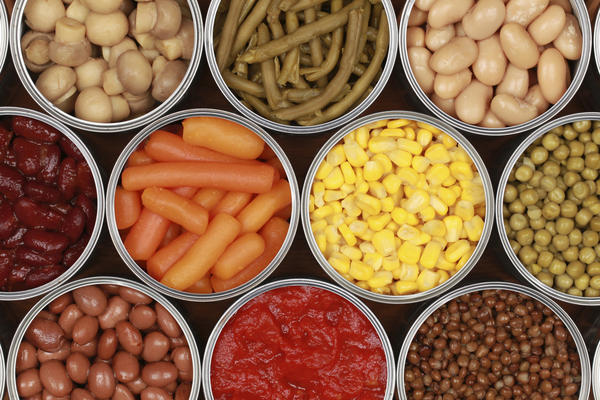 konserve gıdalar