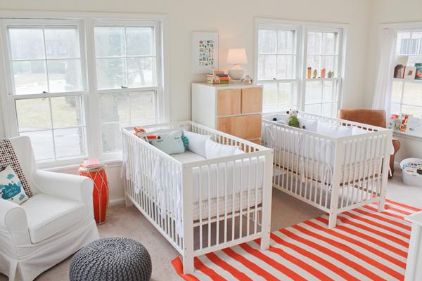 ikizler için bebek odası
