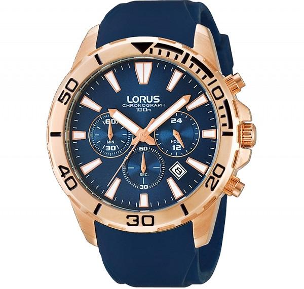 Mavi erkek saat modeli