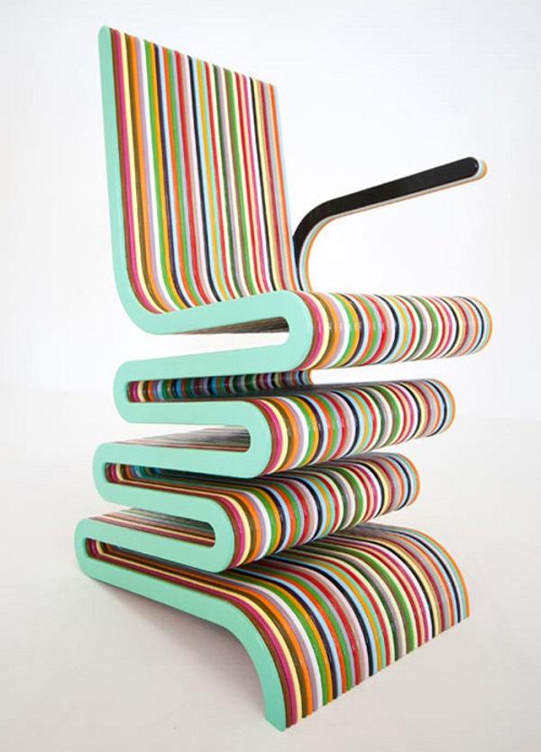 Çizgili sandalye modelleri