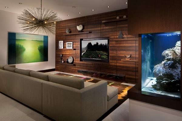 tv arkası dekor