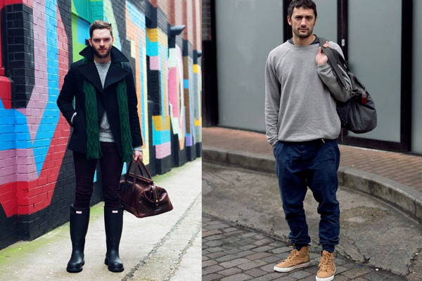erkeklerde moda