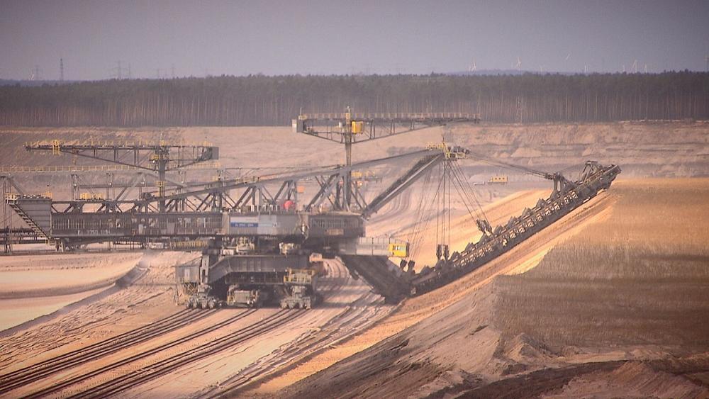 almanya kömür madeni
